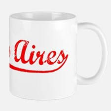 Vintage Buenos Aires (Red) Mug