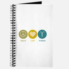 Peace Love Fitness Journal