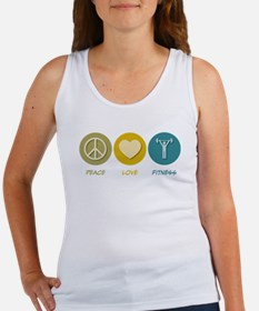 Peace Love Fitness Women's Tank Top
