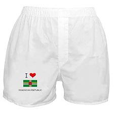 I Love Dominican Republic Boxer Shorts