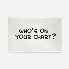 The Chart Rectangle Magnet
