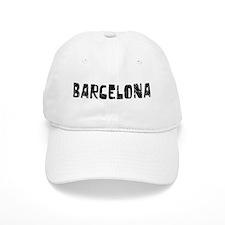 Barcelona Faded (Black) Baseball Cap