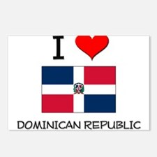 I Love Dominican Republic Postcards (Package of 8)