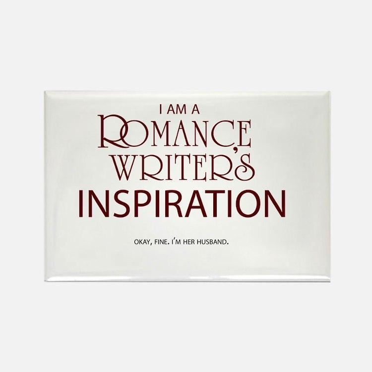 Romance Writer's Husband Rectangle Magnet