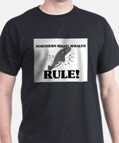 Northern Right Whales Rule! T-Shirt