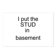 basement Postcards (Package of 8)