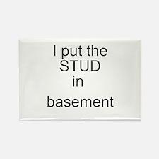 basement Rectangle Magnet
