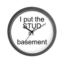 basement Wall Clock