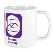 Eat Sleep Financial Planning Mug