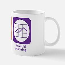 Eat Sleep Financial Planning Mug