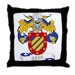 Egea Family Crest Throw Pillow