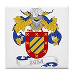 Egea Family Crest Tile Coaster