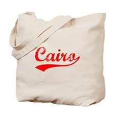 Vintage Cairo (Red) Tote Bag