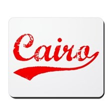 Vintage Cairo (Red) Mousepad