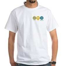 Peace Love Firefighting Shirt