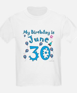 June 30th Birthday T-Shirt