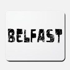 Belfast Faded (Black) Mousepad