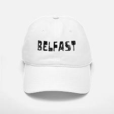 Belfast Faded (Black) Baseball Baseball Cap