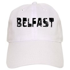 Belfast Faded (Black) Baseball Cap