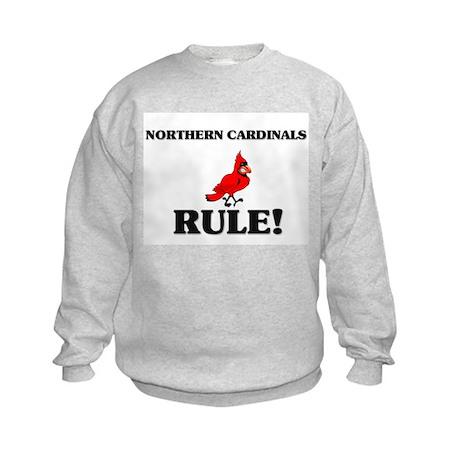 Northern Cardinals Rule! Kids Sweatshirt