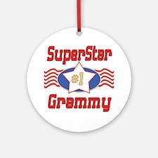 Superstar Grammy Ornament (Round)