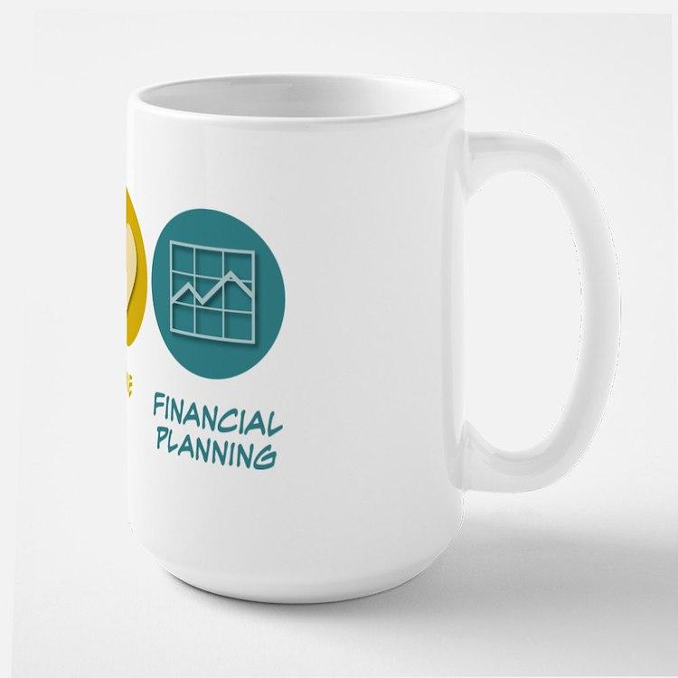 Peace Love Financial Planning Mug