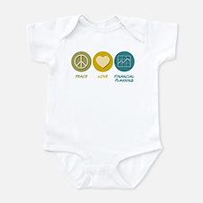 Peace Love Financial Planning Infant Bodysuit