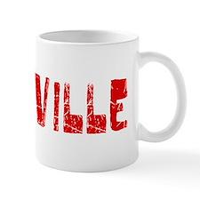 Roseville Faded (Red) Mug