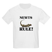 Newts Rule! T-Shirt