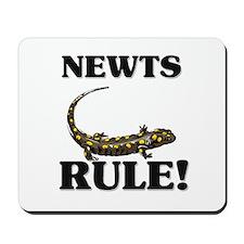 Newts Rule! Mousepad