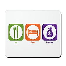Eat Sleep Finance Mousepad