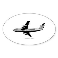 C-5 Galaxy Oval Decal