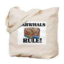 Narwhals Rule! Tote Bag