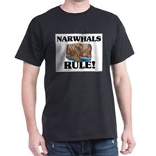 Narwhals Rule! T-Shirt
