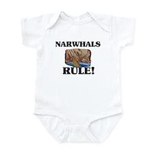Narwhals Rule! Infant Bodysuit