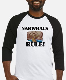 Narwhals Rule! Baseball Jersey