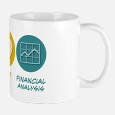 Peace Love Financial Analysis Mug
