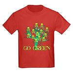 Earth Day Skulls Kids Dark T-Shirt