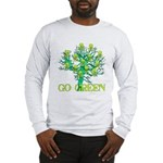 Earth Day Skulls Long Sleeve T-Shirt