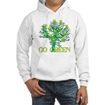 Earth Day Skulls Hooded Sweatshirt