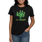 Earth Day Skulls Women's Dark T-Shirt