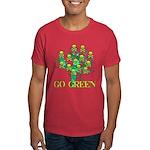 Earth Day Skulls Dark T-Shirt