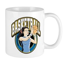 Women's Basketball Logo Mug
