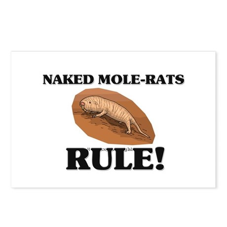 Naked Mole-Rats Rule! Postcards (Package of 8)