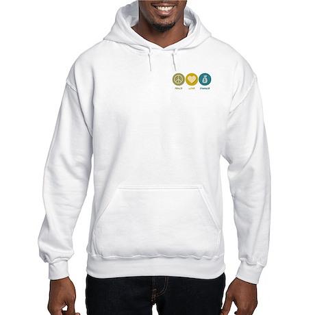 Peace Love Finance Hooded Sweatshirt