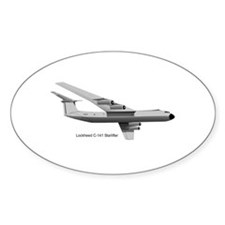 C-141 Starlifter Oval Decal
