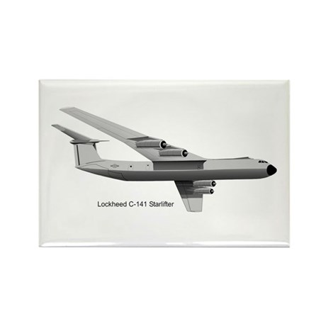 C-141 Starlifter Rectangle Magnet