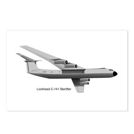C-141 Starlifter Postcards (Package of 8)