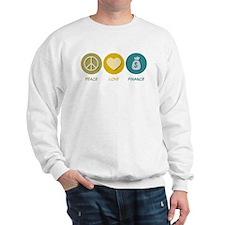 Peace Love Finance Sweatshirt