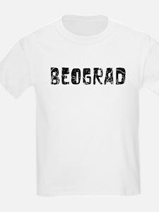 Beograd Faded (Black) T-Shirt